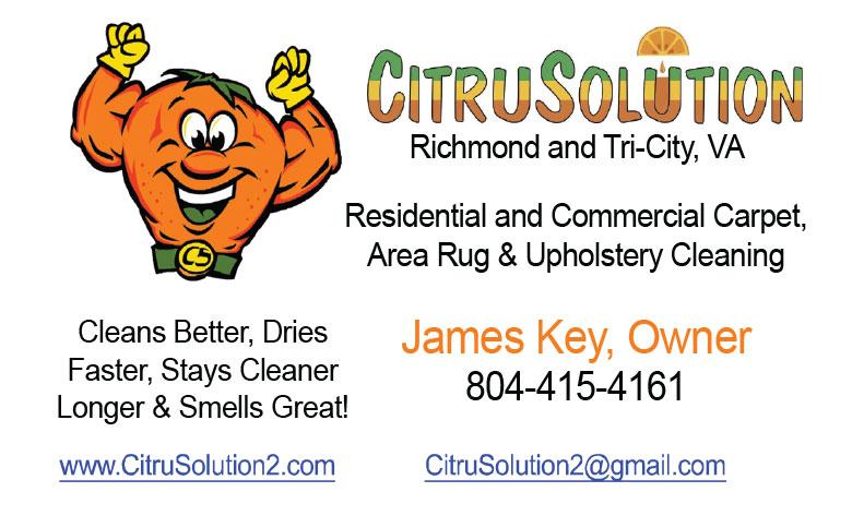 Citrusolution Carpet Cleaning Trust Local Va